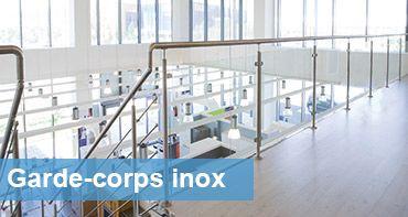 garde corps inox