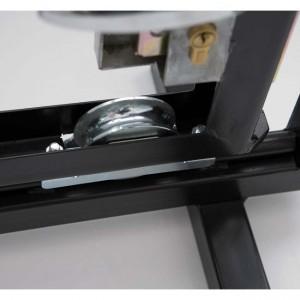 Roue gorge « U » 20 mm à encastrer installation