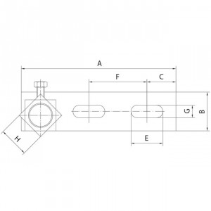charni re d angle sup rieur ferrures pour portes. Black Bedroom Furniture Sets. Home Design Ideas