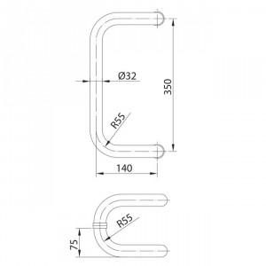 Poignée modèle 15 poignee de porte