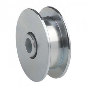 roue gorge de 10 mm en nylon ferrures pour portes. Black Bedroom Furniture Sets. Home Design Ideas