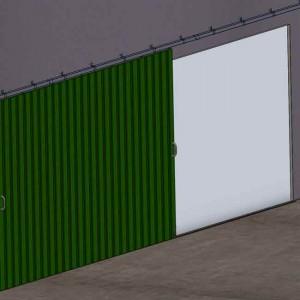Ferrures pour portes coulissantes suspendues