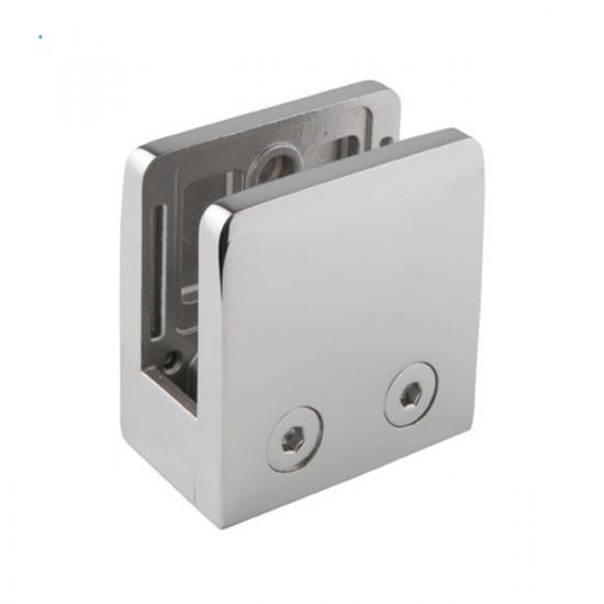 Pince carrée pour verre 16mm embase plate
