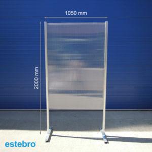 Cloisons fixes -mesures- ESTEBRO